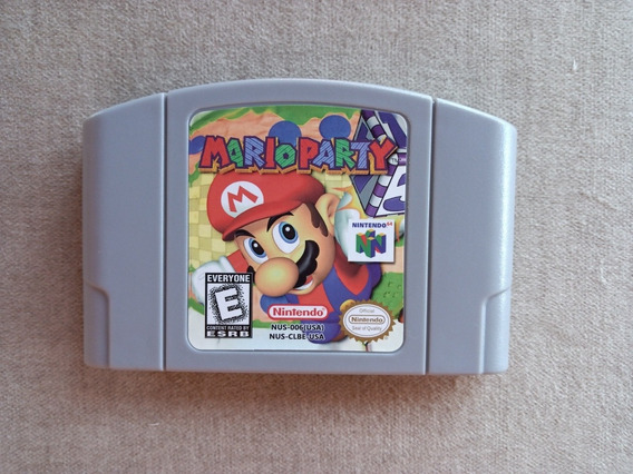 Cartucho Fita Mario Party 1 Nintendo 64 N64