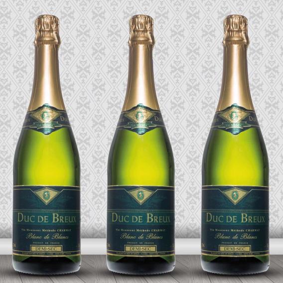 Vino Espumante Duc De Breux 750 Ml 6 Unidades