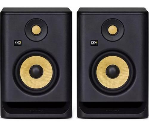 Krk Rokit 5 G4 Par Nuevo Modelo Monitores De Estudio Envio G