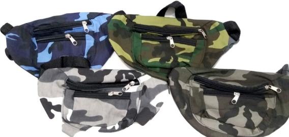 Riñonera Cordura Camuflada Militar - Mv Cueros (493)