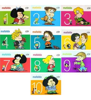 Pack Historieta Mafalda Del 1 Al 10 - Quino