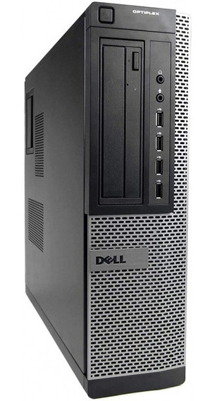 Cpu Pc Desktop Dell Core I3 2120 3.30ghz 4gb Ssd 120gb Dvd