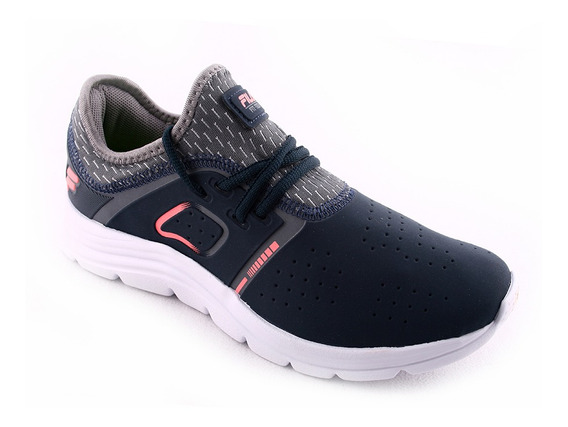 Zapatilla Training Fit Tech Kids Mn/sa/gr Fila Niño