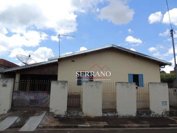 Casa Com 3 Dormitórios À Venda, 180 M² Por R$ 80.000,00 - Caneleira - Ouro Fino/mg - Ca0647