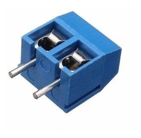 Borne Para Pcb 2 Via - 5mm - Kit 10 Peças