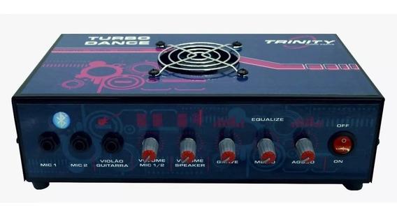 Novo Amplificador Mesa Bluetooth 300w Grátis Cabo P2 / Rca