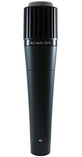 Gls Audio Instrument Microfono Es57 Y Mic Clip Professional