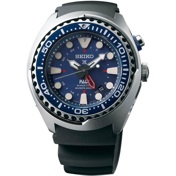 Relógio Seiko Padi Automatic Gmt Kinetic Sun065