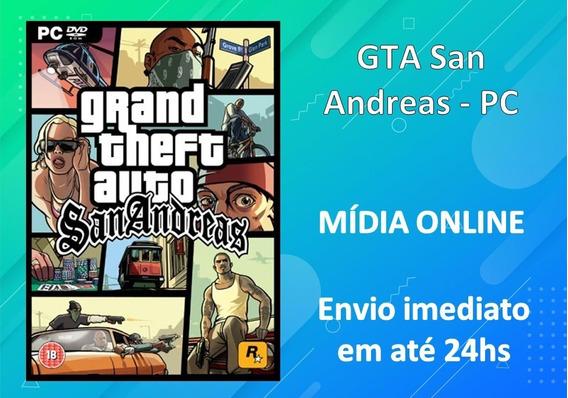 Gta San Andreas - Pc - Português - Mídia Digital