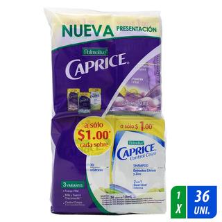 Shampoo Caprice 36 Sobres 10 Ml C/u