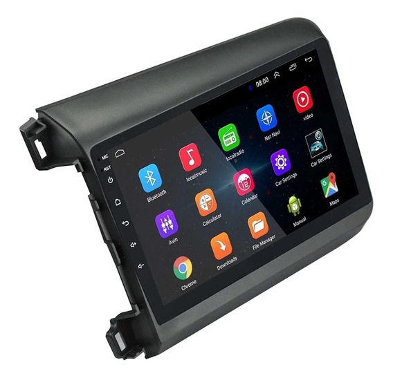 Central Android 8.1 Civic G9 2012-2014