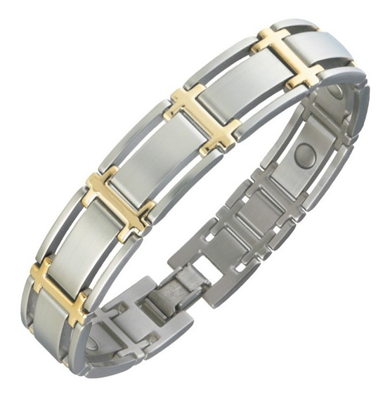 Pulseira Sabona - Executive Symmetry Duet Magnetic Men