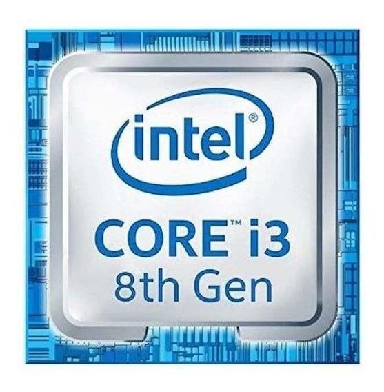 Processador gamer Intel Core i3-8100 BX80684I38100 de 4 núcleos e 3.6GHz de frequência com gráfica integrada