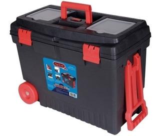 Carrinho Caixa Para Ferramentas Com Organizador Car Box Repl