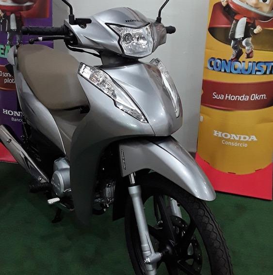 Biz 125 Flex Gasolina/etanol Painel Digital Freio Disco Cbs