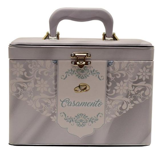 Álbum Fotográfico Maleta Box Luxo Casamento 240 Fotos 15x21