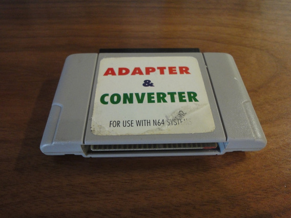 Adaptador Para Cartucho Nintendo 64 Original