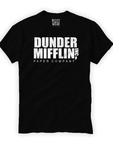 Dunder Mifflin The Office Playera N Rott Wear