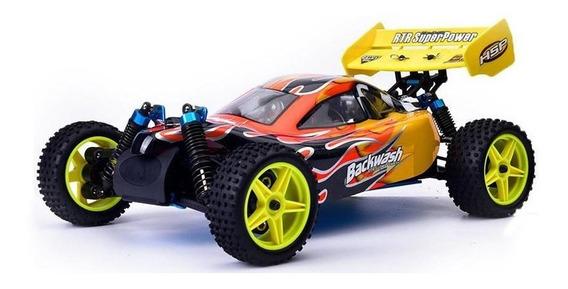 Buggy Auto Nitro Explosión 4x4 Radiocontrol 80km 1/10 2 Vel