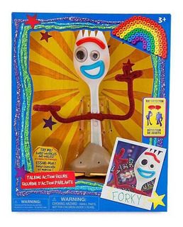 Forky Parlante Interactivo - Toy Story 4 Pixar Disney Store