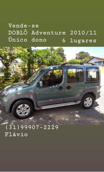 Fiat Doblo Adv E-torq 1.8 2012 4 Portas Completo!