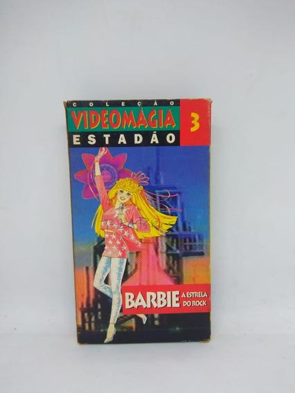 Fita Vhs Barbie Coleção Videomagia Estadão Vol. 3