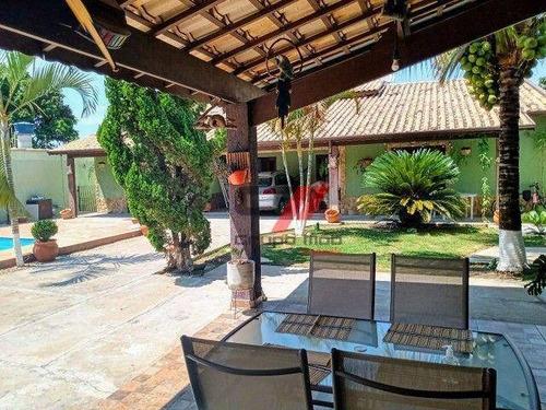 Imagem 1 de 18 de Chácara Com 2 Dormitórios À Venda, 900 M² Por R$ 920.000,00 - Piracangaguá - Taubaté/sp - Ch0033