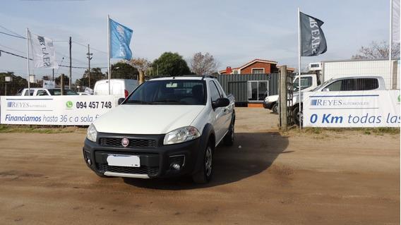 Fiat Strada Cabina Extendida 2018 Bajo De Precio!!!!