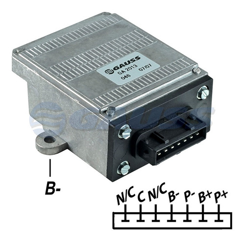 Imagen 1 de 5 de Modulo Encendido Electronico Volkswag Gol Bosch 7 Terminales