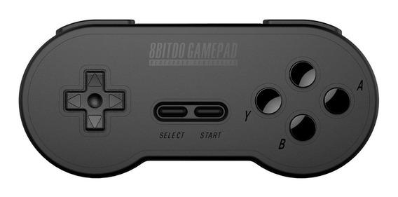 Controle joystick 8Bitdo SN30 Retro Set black edition