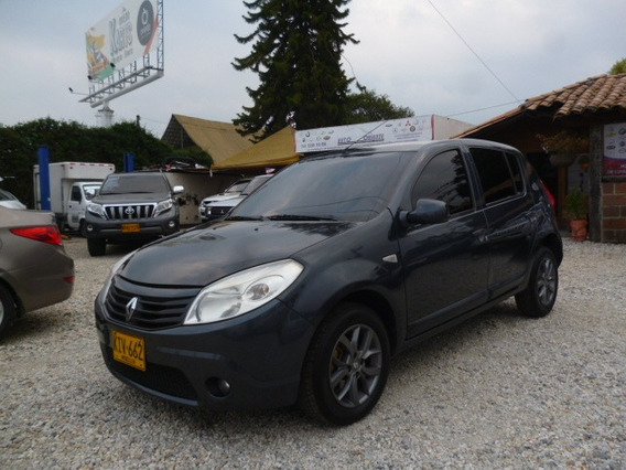 Renault Sandero Expression 2011 Full Mt Gris