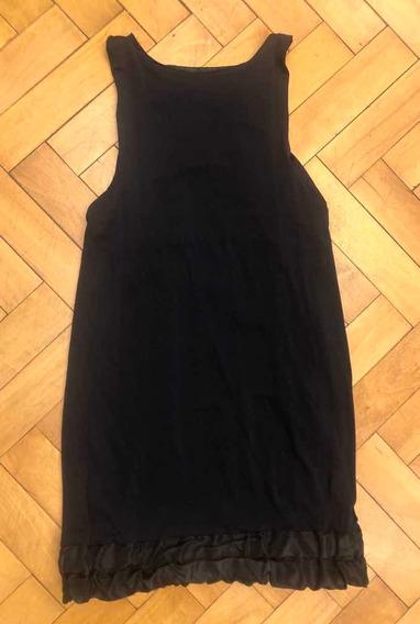Vestido Negro Corto Noche Fiesta Mujer Materia