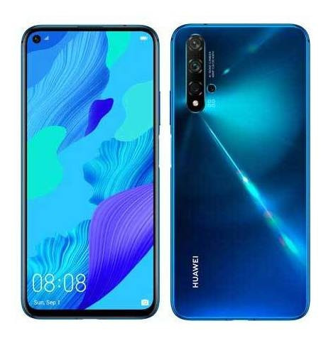 Celular Smartphone Huawei Nova 5t 128gb Azul - Dual Chip