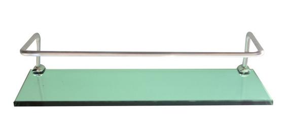 Prateleira Master Com Proteção (10x30cm) De Vidro