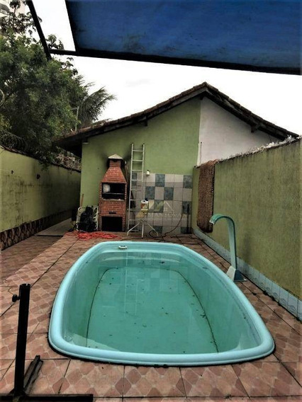 Excelente Casa Com Piscina E Edícula, 3 Dormitórios Na Aviação Praia Grande Sp - Ca0183