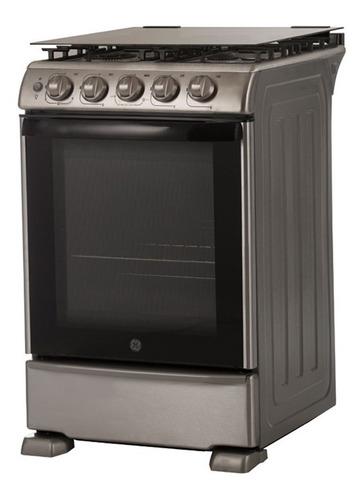Cocina G.electric Cg756i 55x87x68 Cm Inox Luz T. De Vidrio F