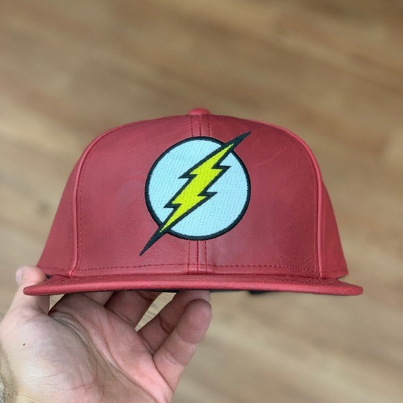 Gorra The Flash 100% Original Dc Comics