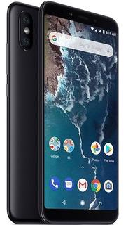 Celular Xiaomi Mi A2 64gb Android One Cámara Dual + Vidrio T
