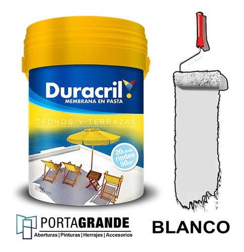 Membrana En Pasta Duracril Techos Y Terrazas X 10 Kg
