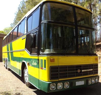 Onibus Antigo Scania Nielson Leito
