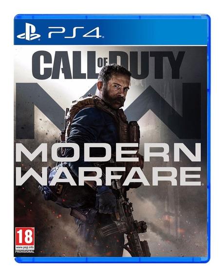 Jogo Novo Midia Fisica Call Of Duty Modern Warfare Para Ps4