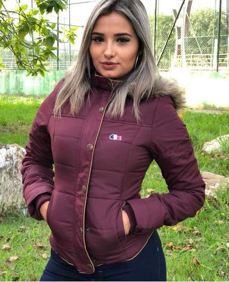 Jaqueta De Inverno Feminina Lacoste