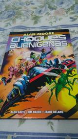 Choques Alienígenas - Alan Moore - Frete Grátis