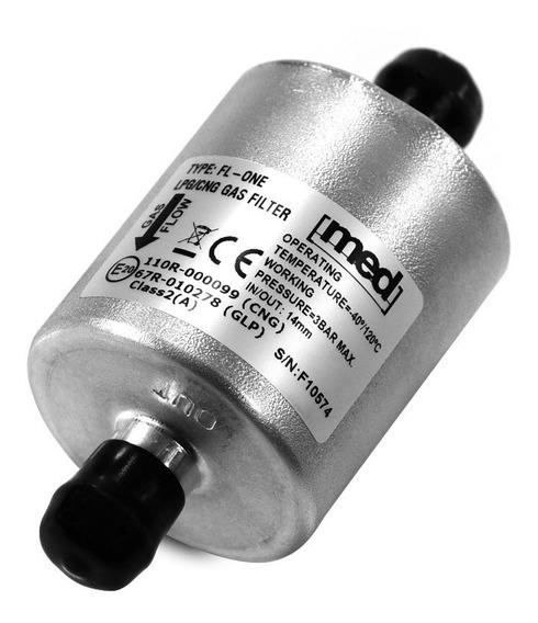Filtro 14mm Metal 5ª Geração Gnv Compatível Com Landirenzo