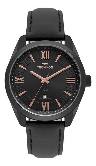 Relógio Technos Steel Masculino Preto 2115msp/4p