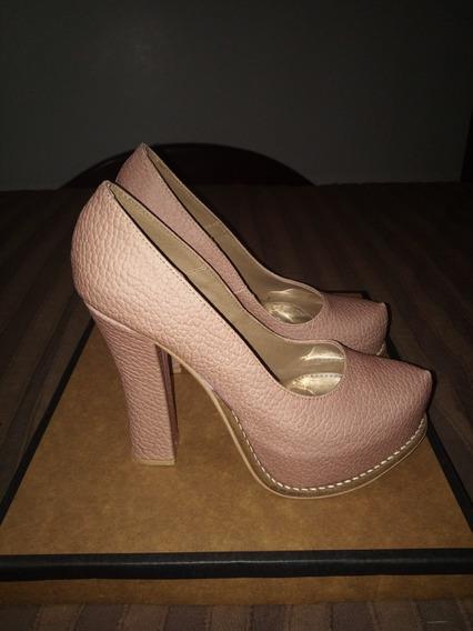 Zapatos De Tacón Como Nuevo