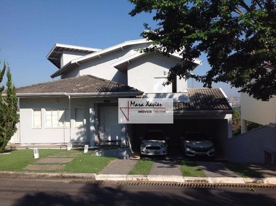 Sobrado Com 4 Dormitórios À Venda, 258 M² Por R$ 690.000 - Bairro Buracão - Vinhedo/sp - So0051