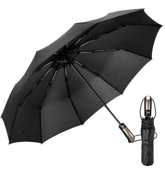 Paraguas Plegable Apertura Cierre Automático Anti Viento
