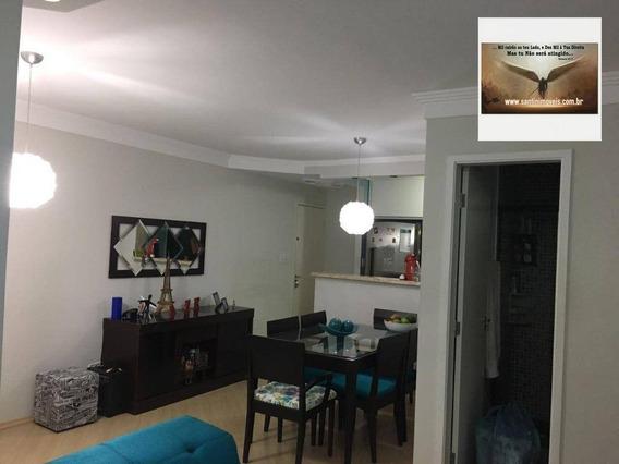 Apartamento De 58 M² Com 03 Dormitórios ( Sendo 01 Suíte ) Residencial À Venda, Vila Mendes, São Paulo. - Ap0543