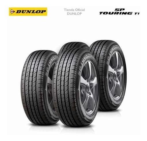 Kit X4 185/65 R15 Dunlop Sp Touring T1 + Tienda Oficial
